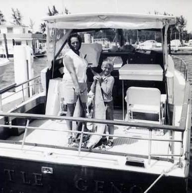 Fishing in Florida 1964
