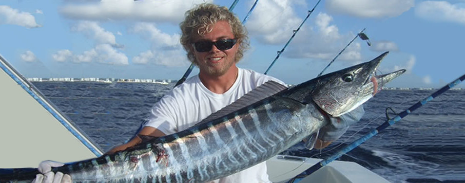 large wahoo caught on Geno IV